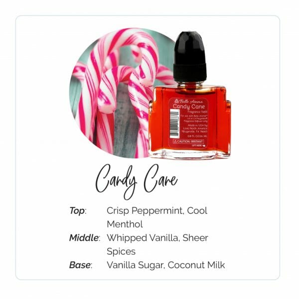 Candy Cane Plugables Electric Warmer Rerfill Aroma