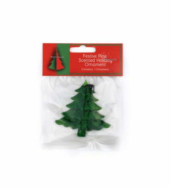 Festive Pine Scented holiday ornament