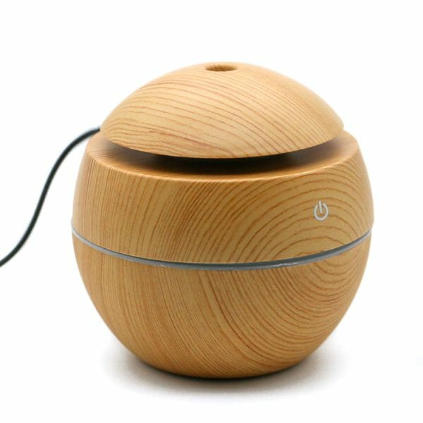 Ultrasonic Aromatherapy diffuser for use with essential oils