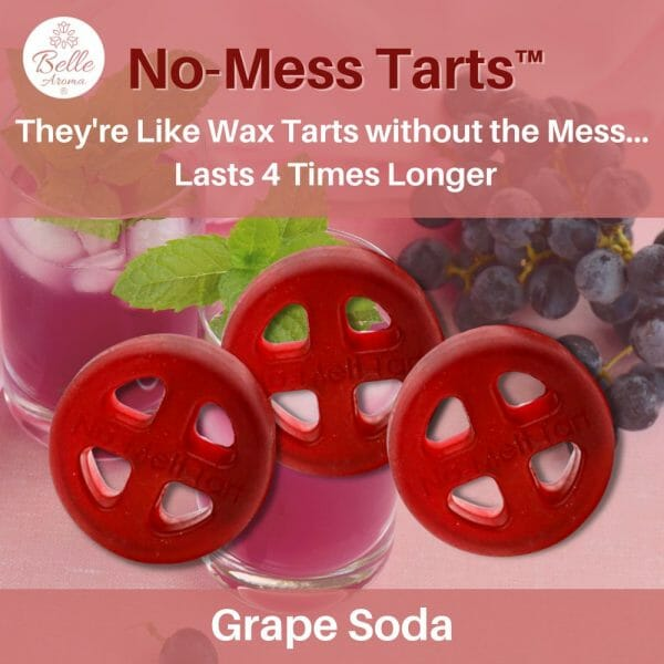 Grape Soda No Mess Tart by Belle Aroma