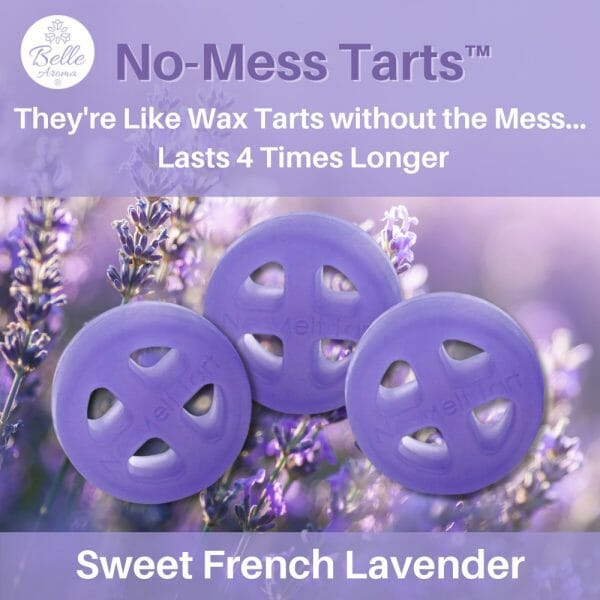 Lavender No Mess Tart by Belle Aroma