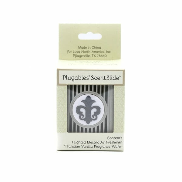 Fleur Nickel Plugables Scentslide™ Electric Scent Diffuser In Packaging