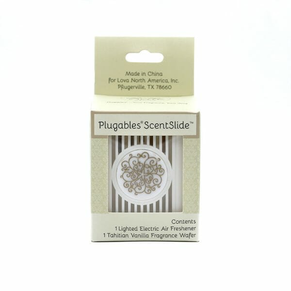 Floral Plugables ScentSlide™ Electric Scent Diffuser In Packaging
