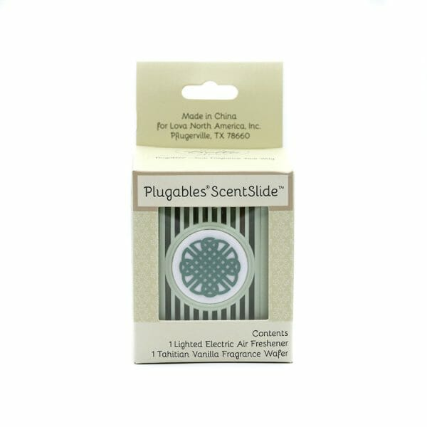 Celtic Knot Plugables ScentSlide™ Electric Scent Diffuser In Packaging