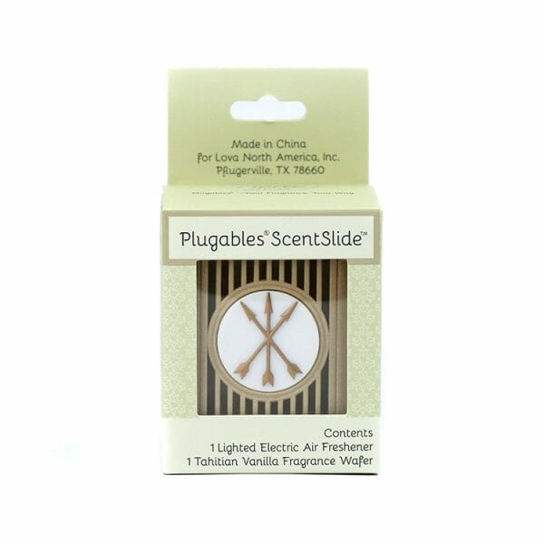 Arrows Plugables ScentSlide™ Electric Scent Diffuser In Packaging