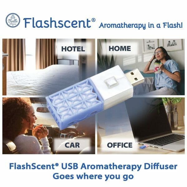 Flashscent®-USB Aromatherapy Diffuser
