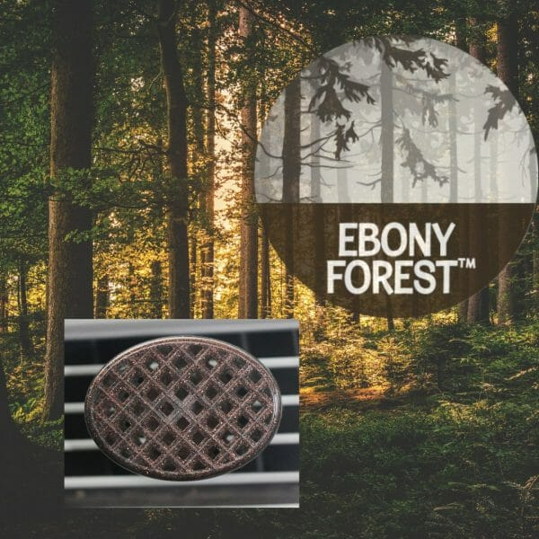 You are Eclectic - Ebony Forest Aromables Portable Air Freshener