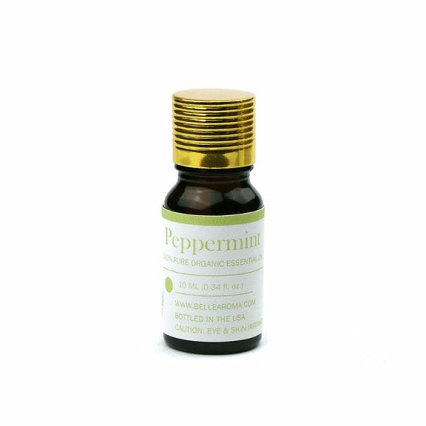 Belle Aroma 10 ml 100% Organic Peppermint essential oil