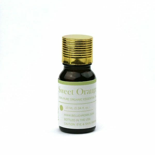 Belle Aroma® 10 ml Organic Sweet Orange Essential Oil