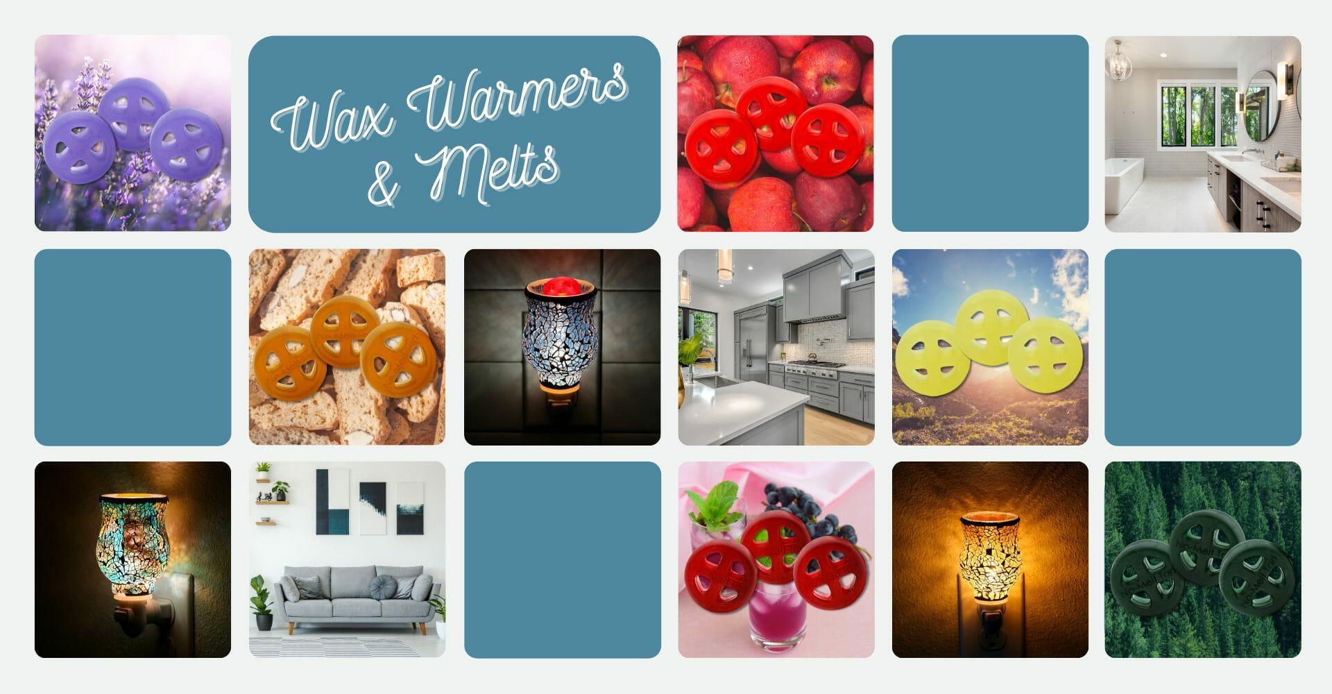 Wax Warmers for Essential Oils and Wax Melts